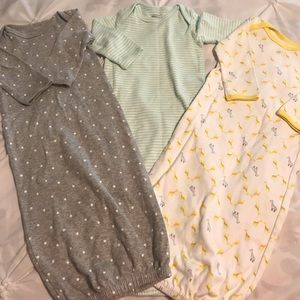 Bundle of 3 0-3 month carters